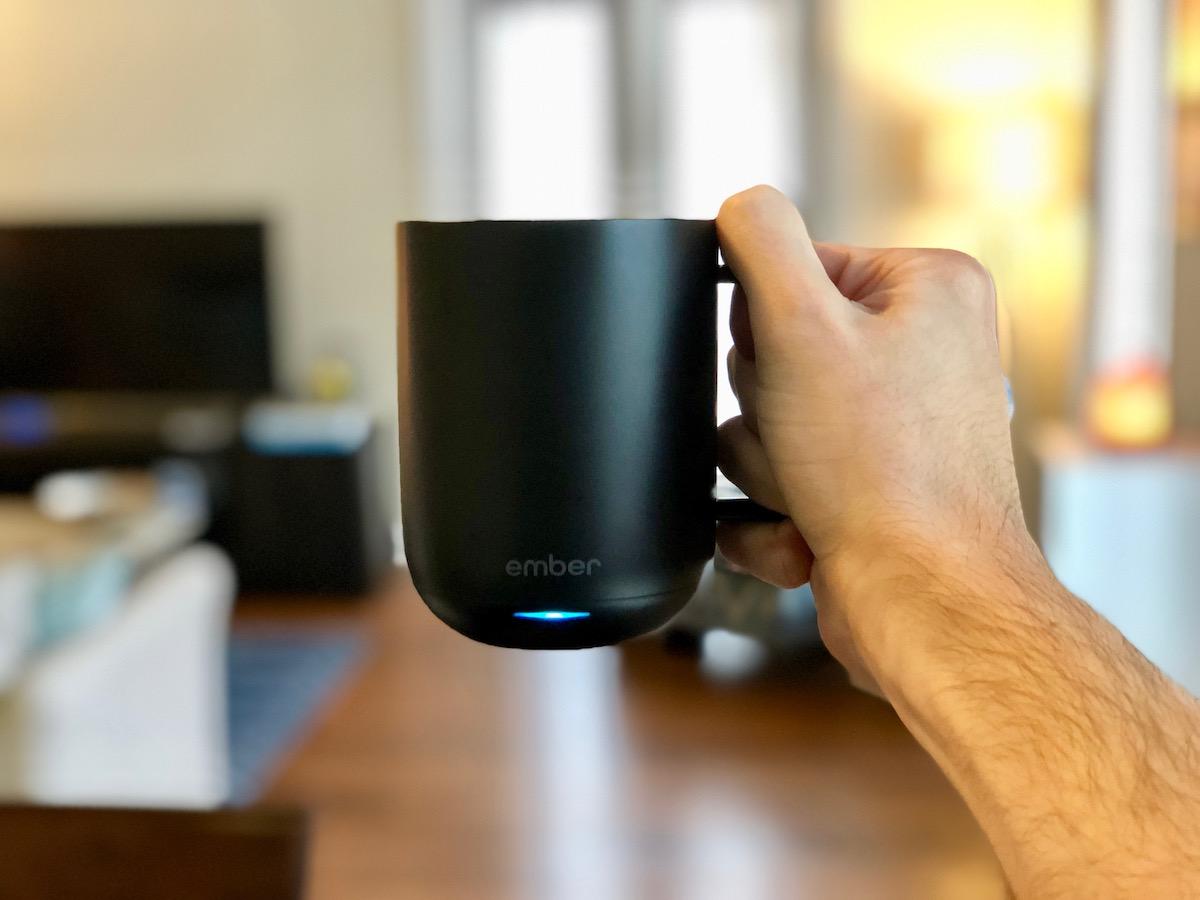 how to turn on ember mug