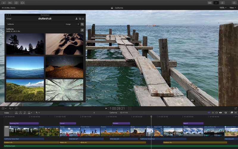 final cut pro x updated with support for third party workflow extensions