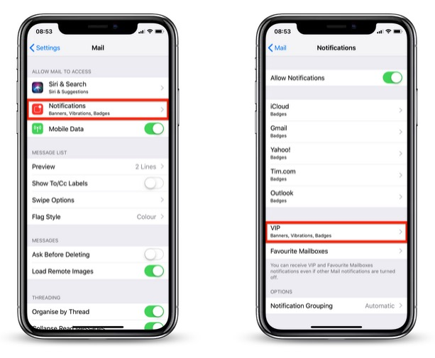 How to Receive Unique Alerts for VIP Emails on iPhone and