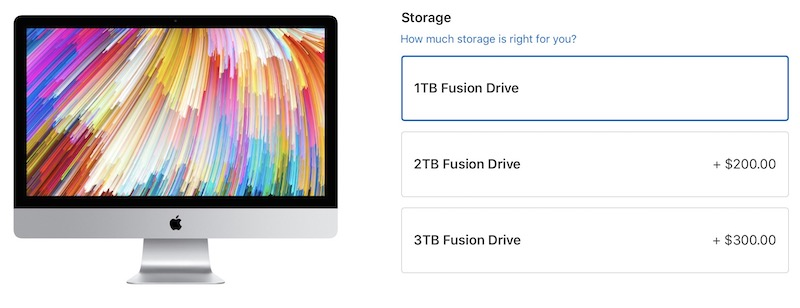 many 27 inch imac ssd configurations disappear from apple s online store likely due to a bug