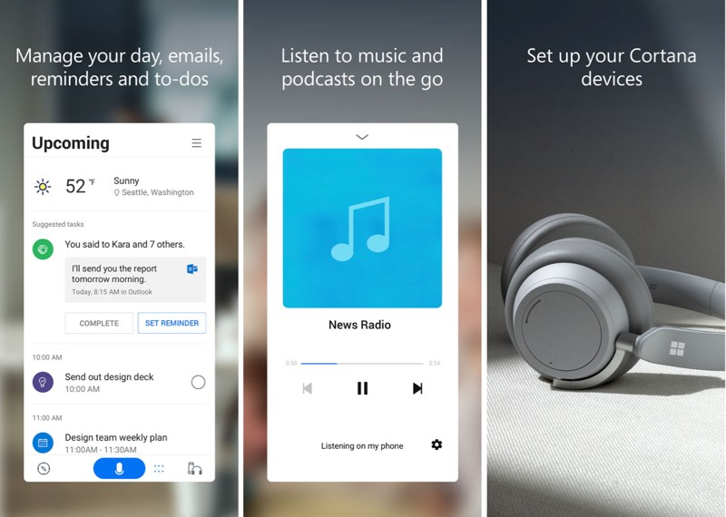 microsoft releases redesigned cortana app for ios