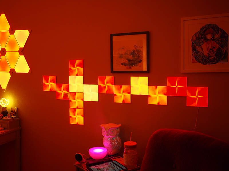 Nanoleaf S New Touch Enabled Canvas Offers Up Fun