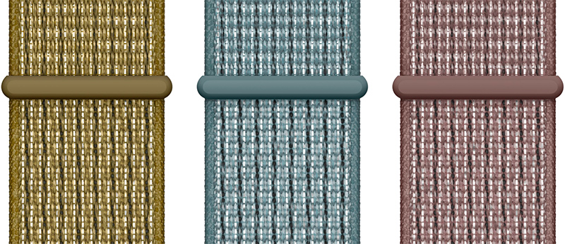 nike launches new apple watch sport bands and sport loops in olive teal and mauve