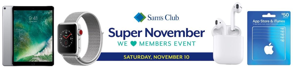 sam s club plans one day only member event with 30 savings on airpods and more