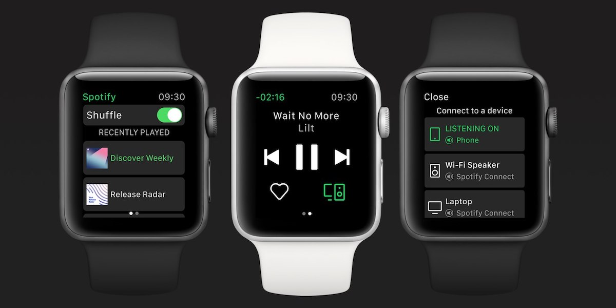 spotify officially debuts apple watch app rolling out to everyone over coming week
