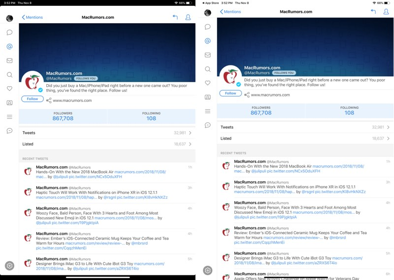 tweetbot for ios gains support for new 11 and 12 9 inch ipad pro models
