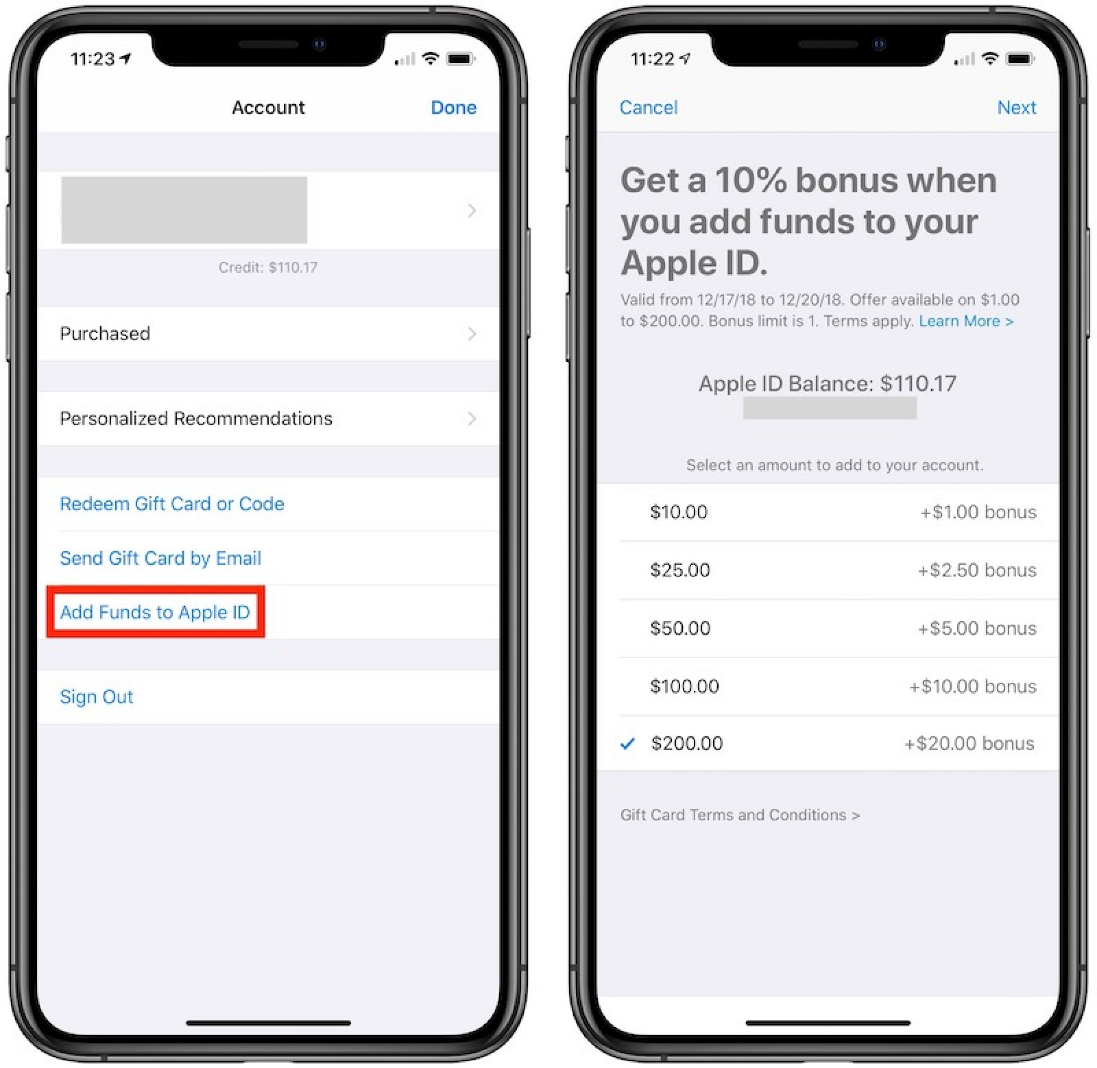 photo image Apple Offering 10% Bonus When Adding Funds Directly to Apple ID