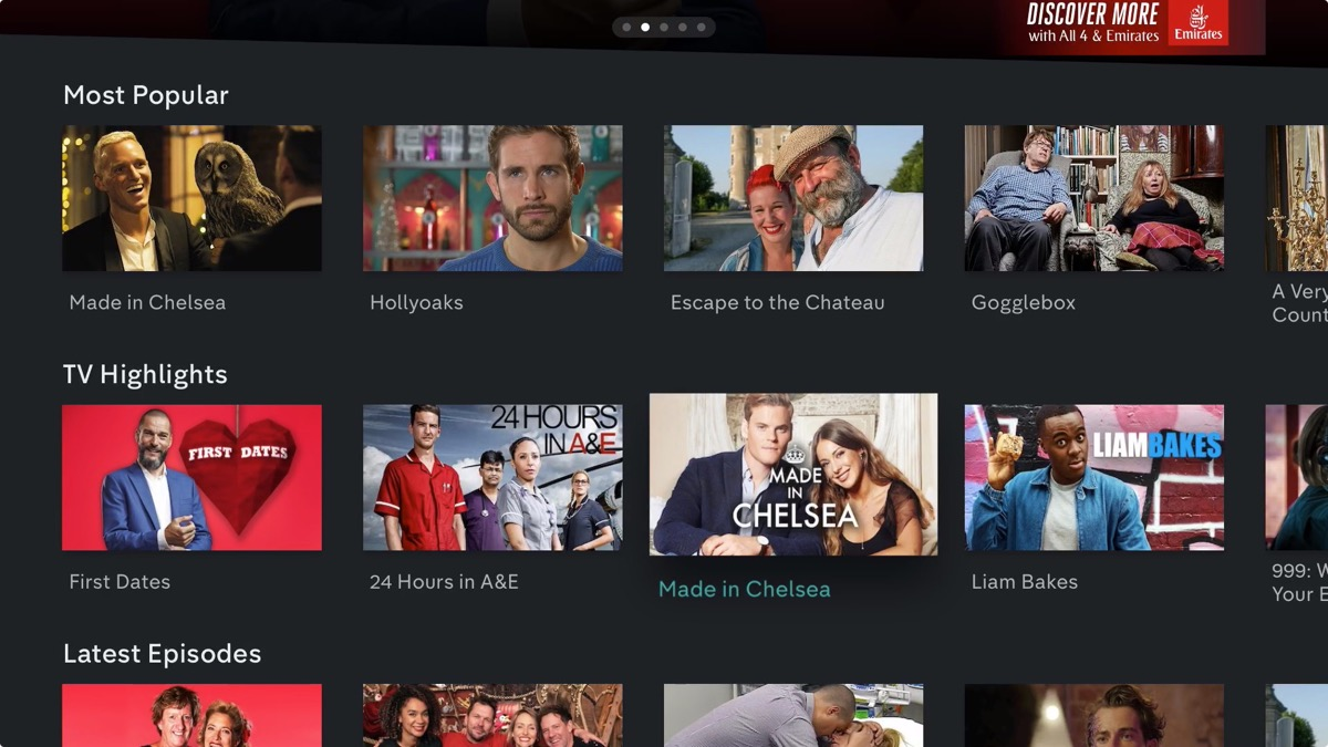 British Broadcaster Channel 4 Releases 'All 4' On-Demand App