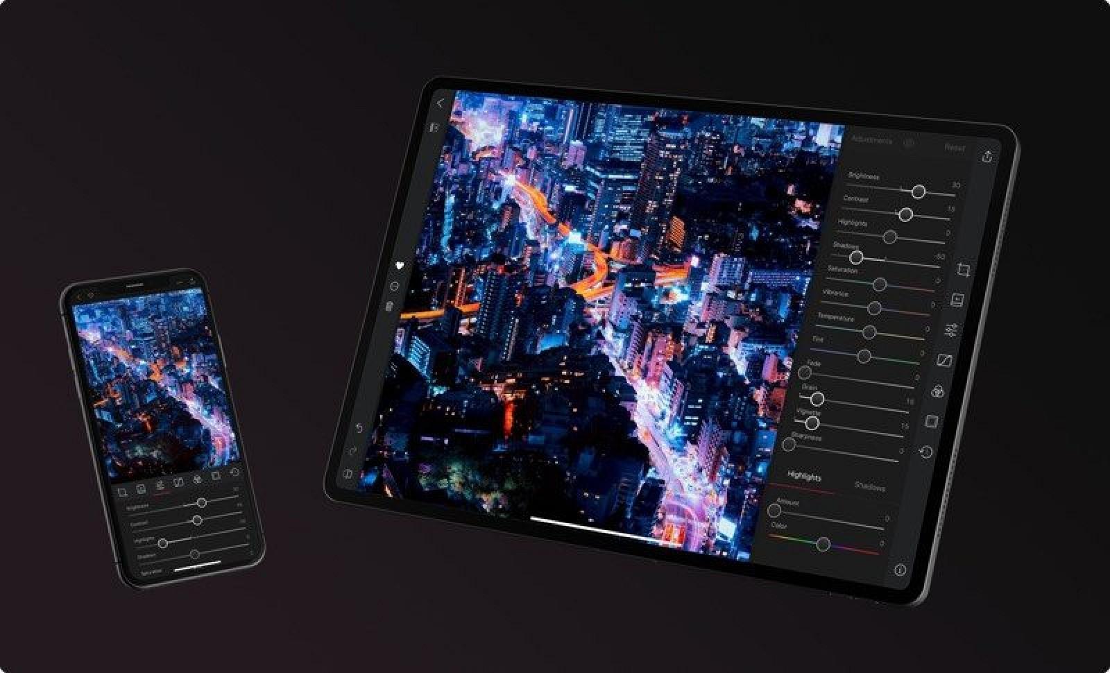 Popular Photo Editing App 'Darkroom' Expands to the iPad