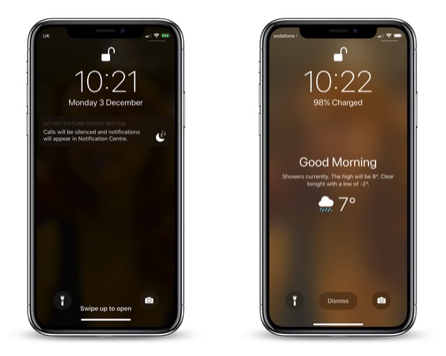 How To Wake Up To A Weather Forecast On Your Iphones Lock Screen