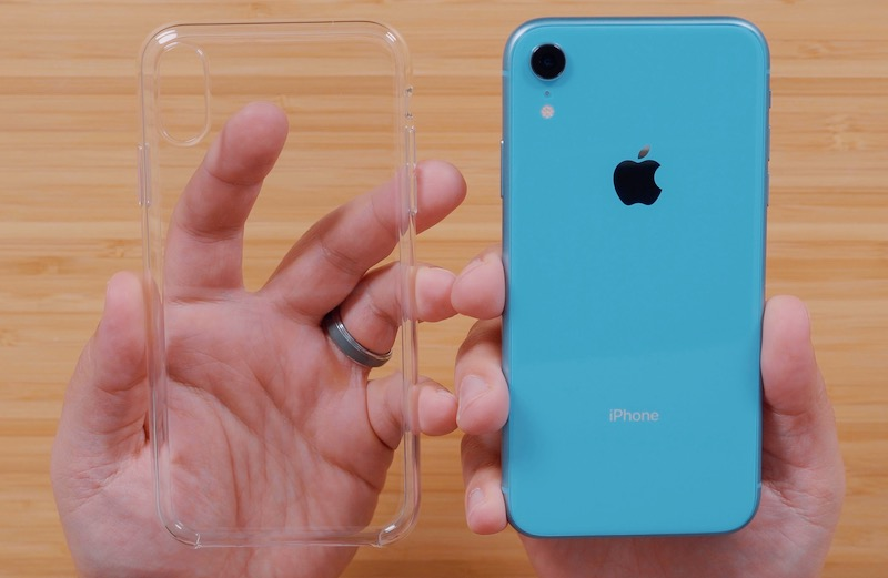 iphone xr silicon case clear