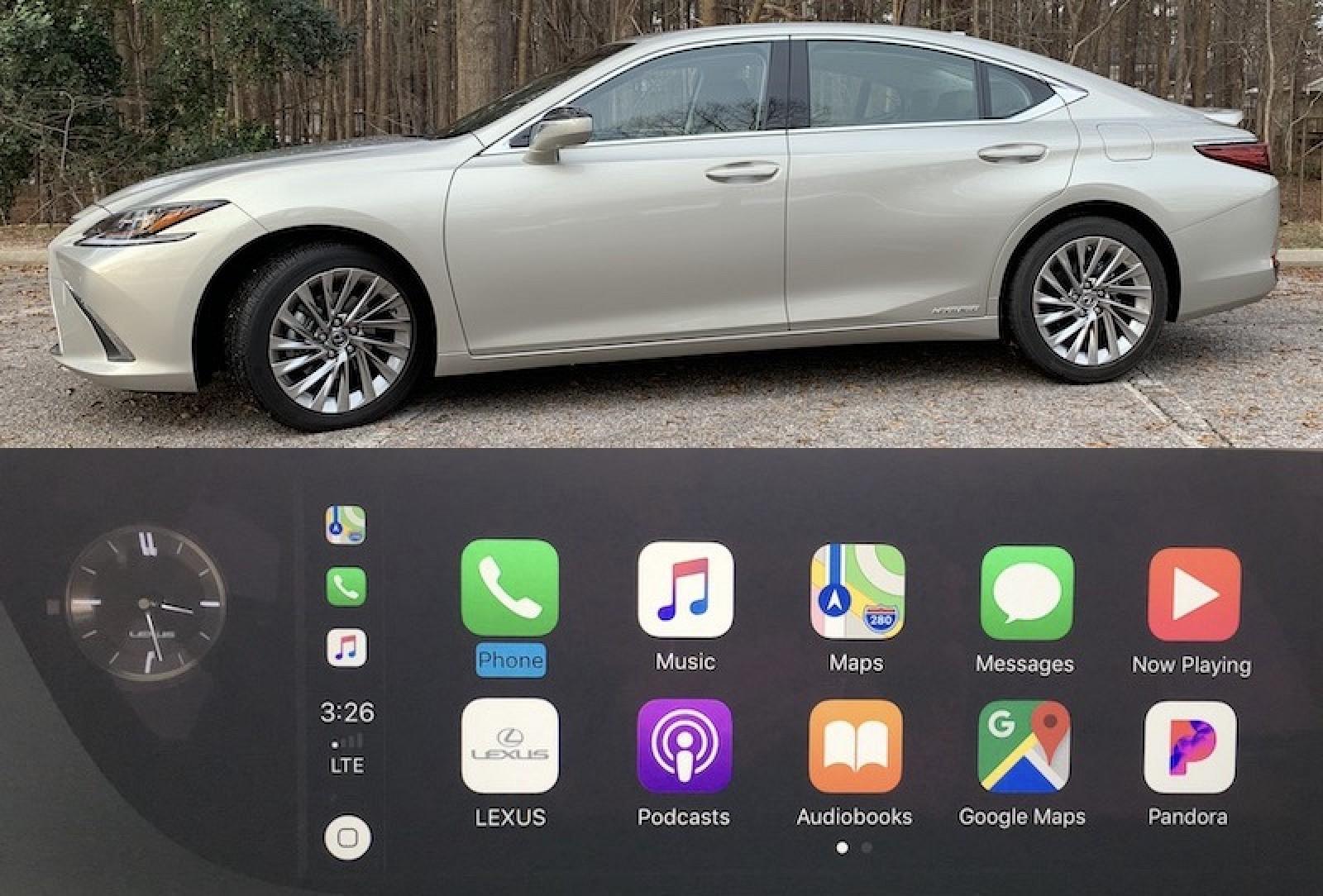 Review 2019 Lexus Es Features Optional Widescreen Carplay But