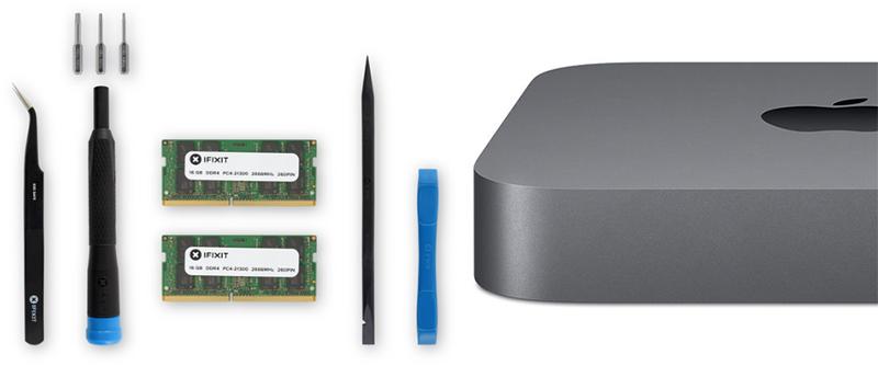 iFixit Begins Selling 2018 Mac Mini RAM Upgrade Kit, Save Up to $275