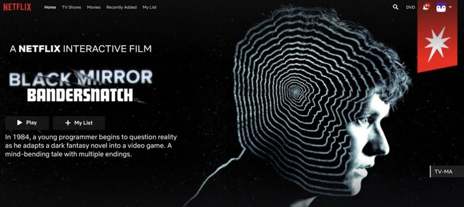 Netflix's New Interactive 'Black Mirror: Bandersnatch' Episode Doesn