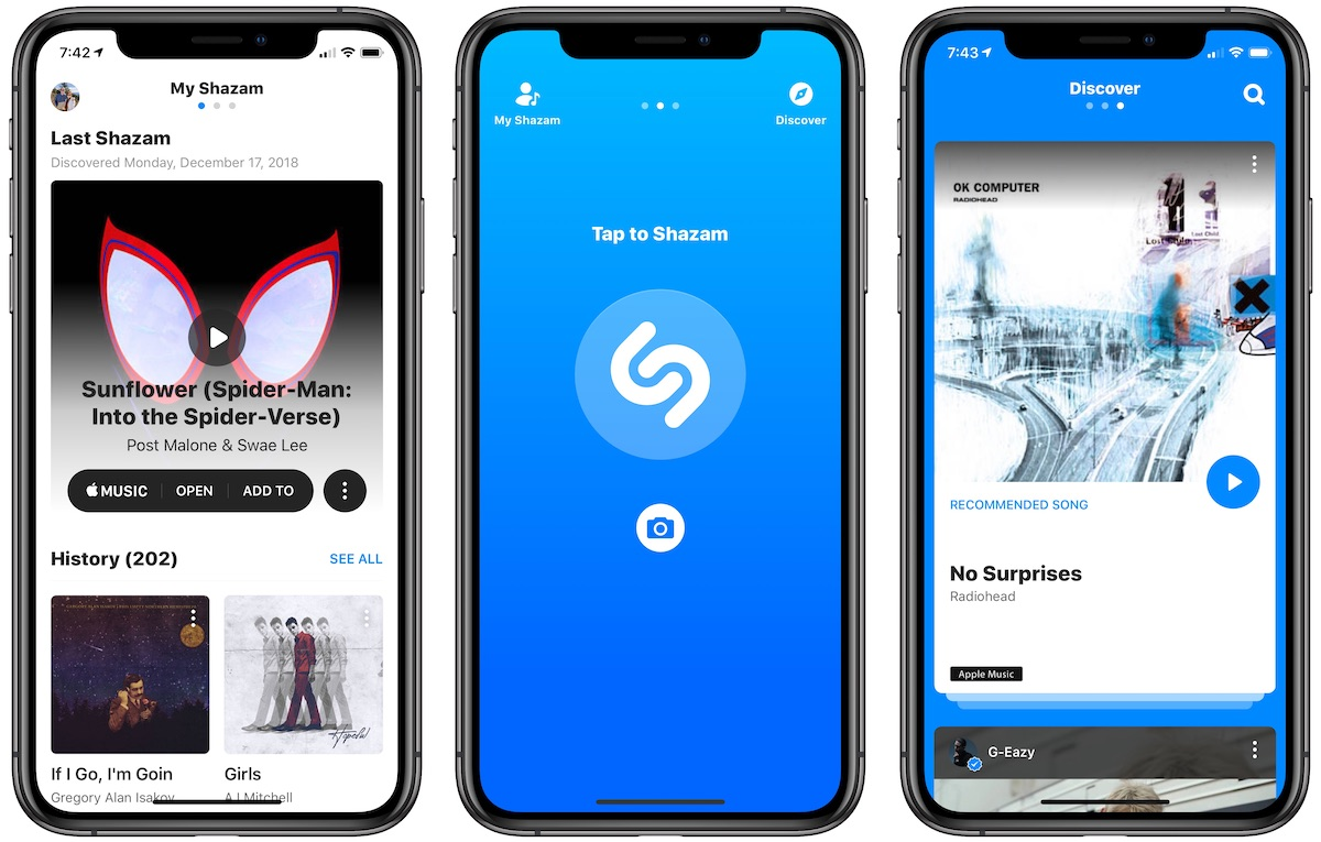 shazam app is now ad free following apple acquisition