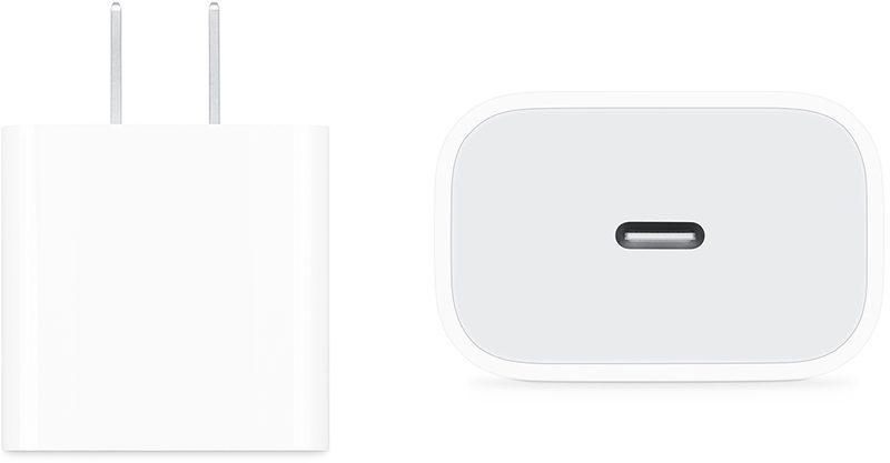b4a952444d 18W USB-C power adapter bundled with 2018 iPad Pro
