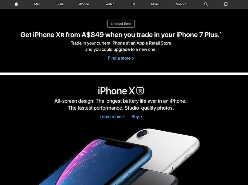 Apple Extends iPhone XR and iPhone XS Trade-In Promotion to