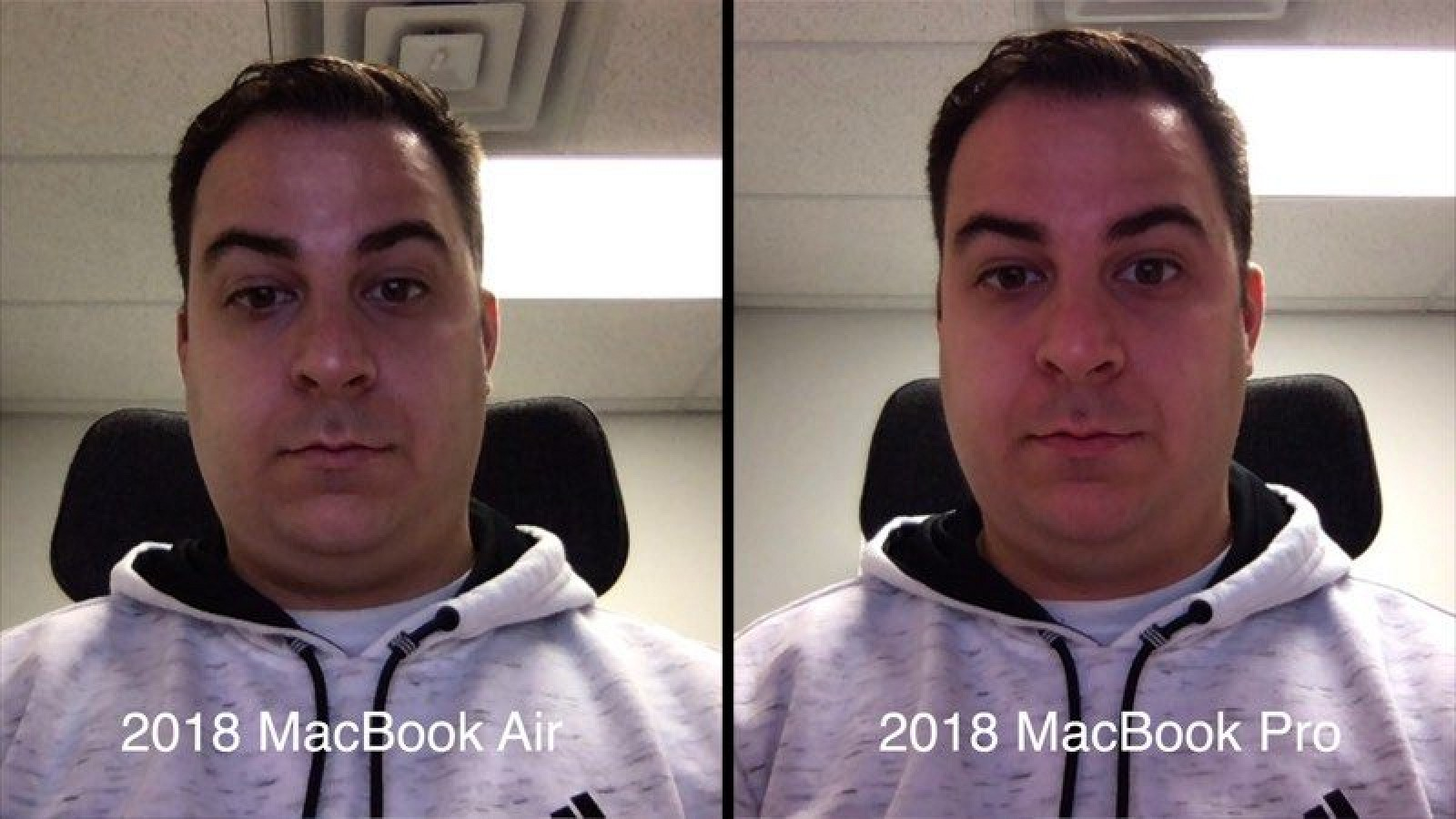 Yes The Facetime Hd Camera On The Macbook Air 2018 Is Awful
