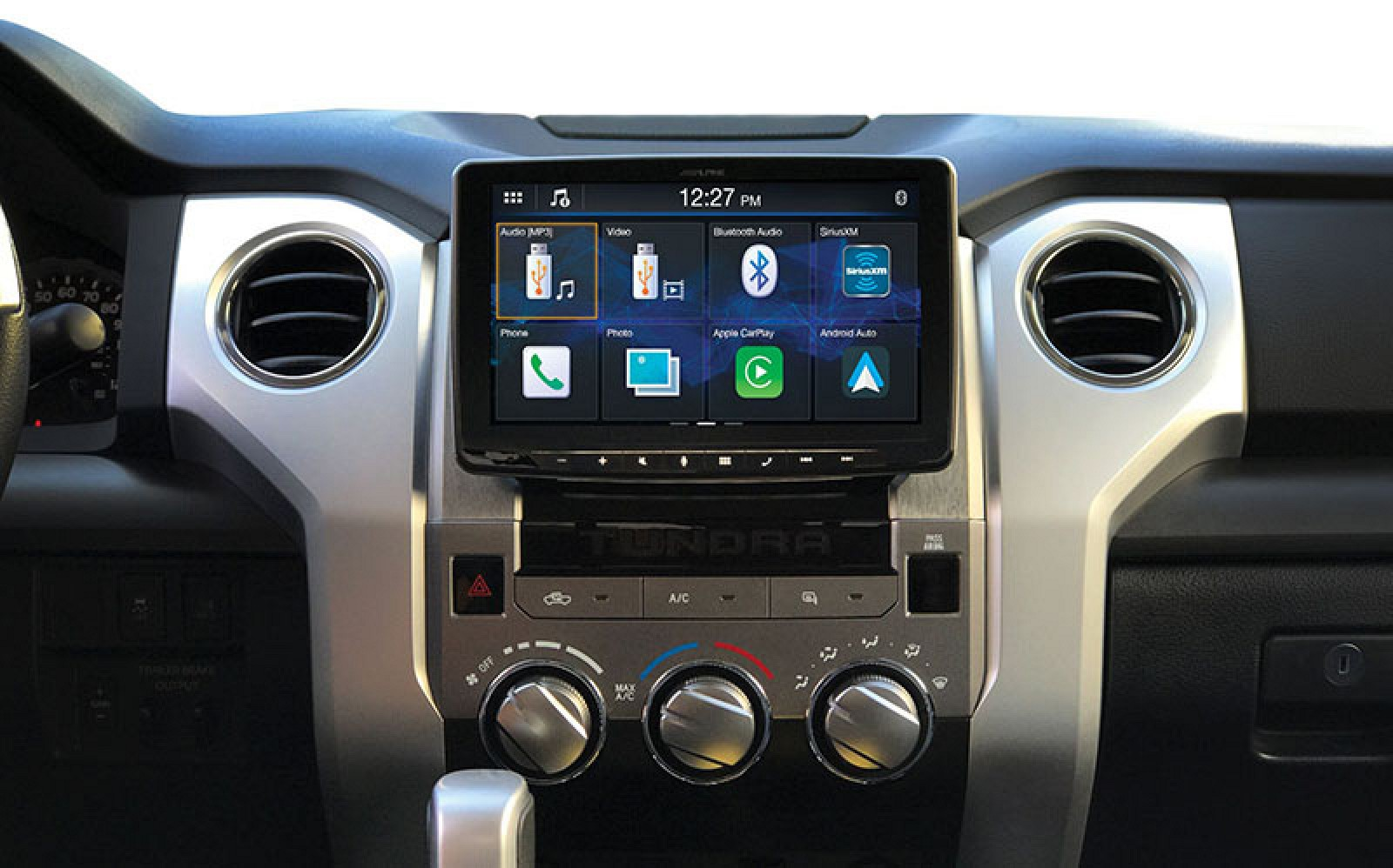 Ces 2019 Alpine Previews New Carplay Receivers One Features