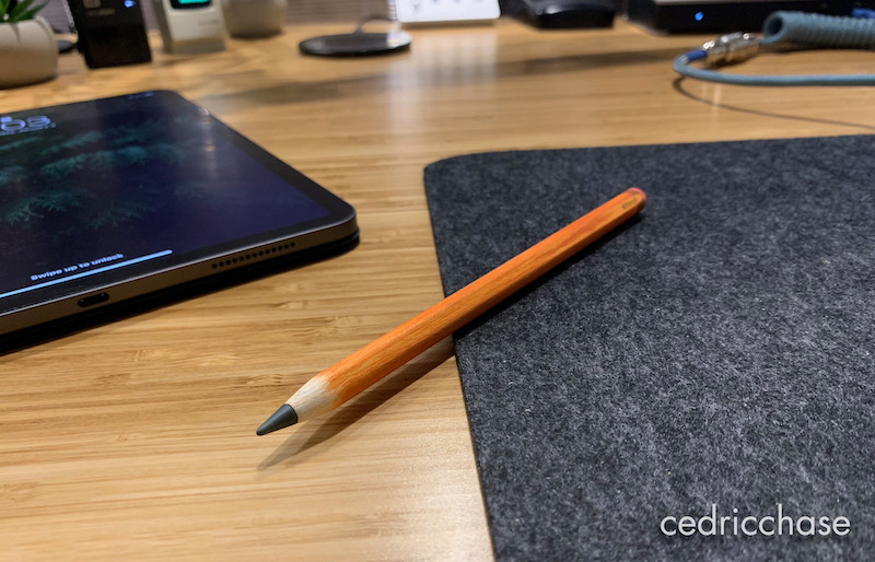New Apple Pencil Sandpapered to Look and Feel Like a Real