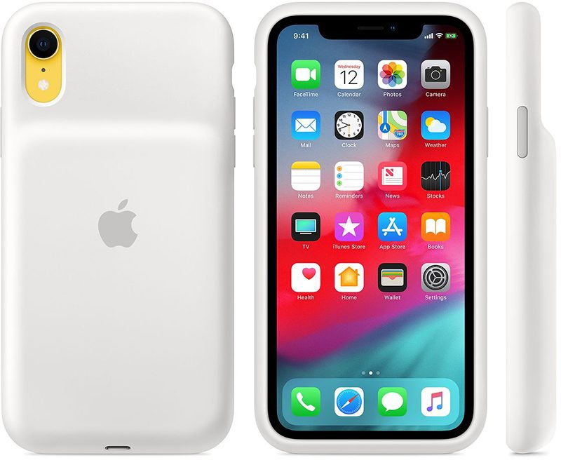 buy online 108c9 97141 Apple Releases Smart Battery Cases for iPhone XS, XS Max and XR, Qi ...
