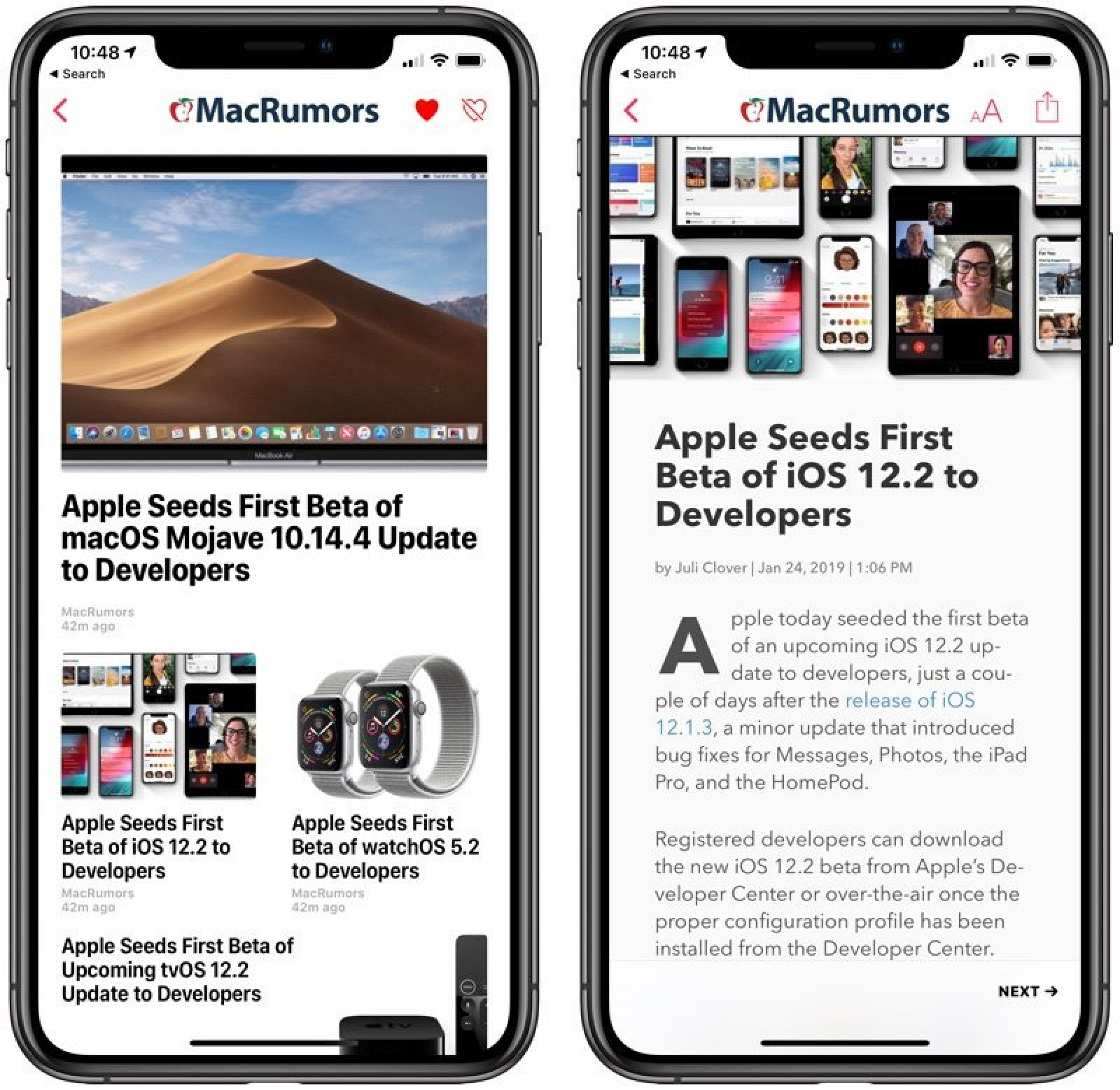 Everything new in iOS 12.2