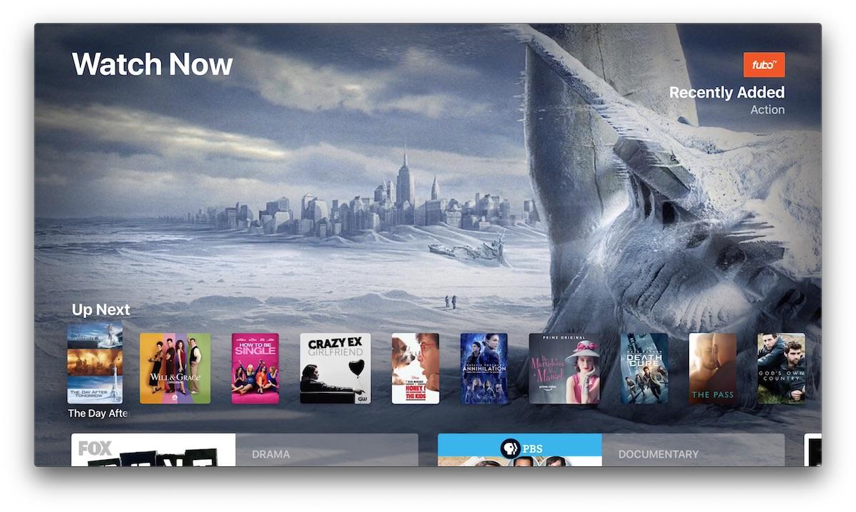 FuboTV Rolls Out Apple TV App Integration