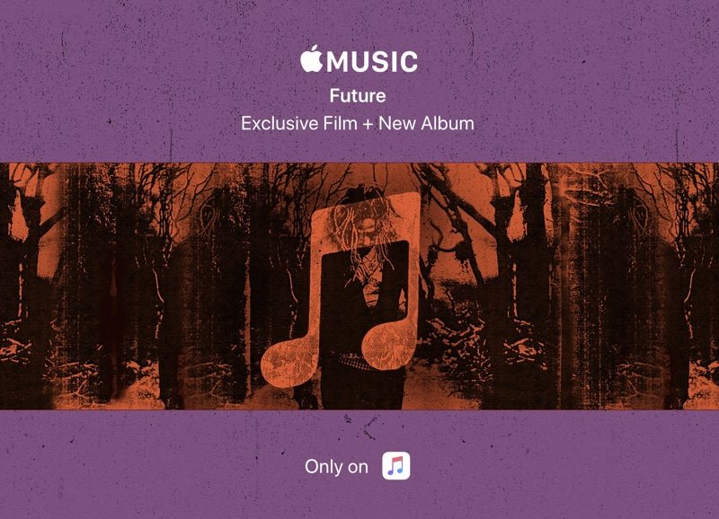 Apple Highlighting Future's 'THE WIZRD' Album and