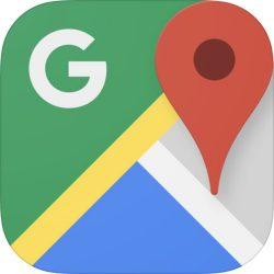 Google Maps, een van de favoriete apps voor op reis!