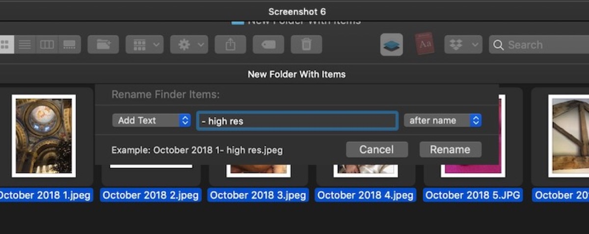 How to Rename Several Files at Once in macOS - MacRumors