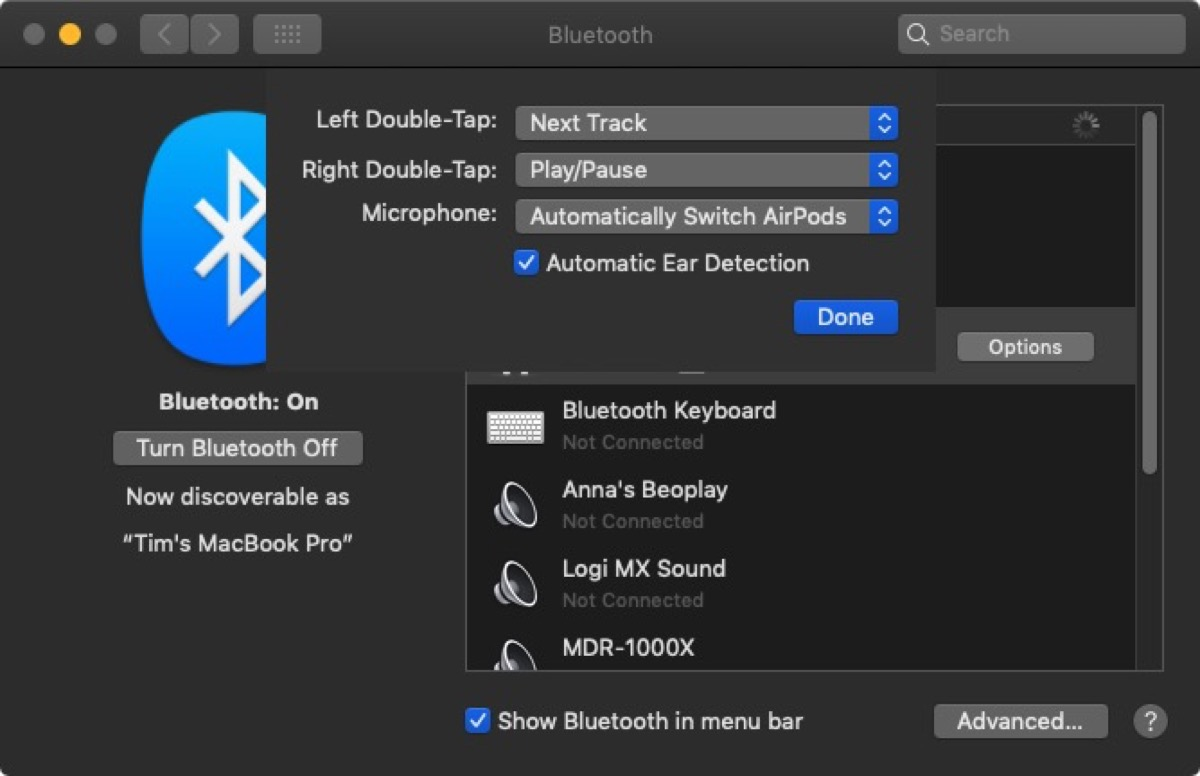 How to Use AirPods With Your Mac and Customize Controls