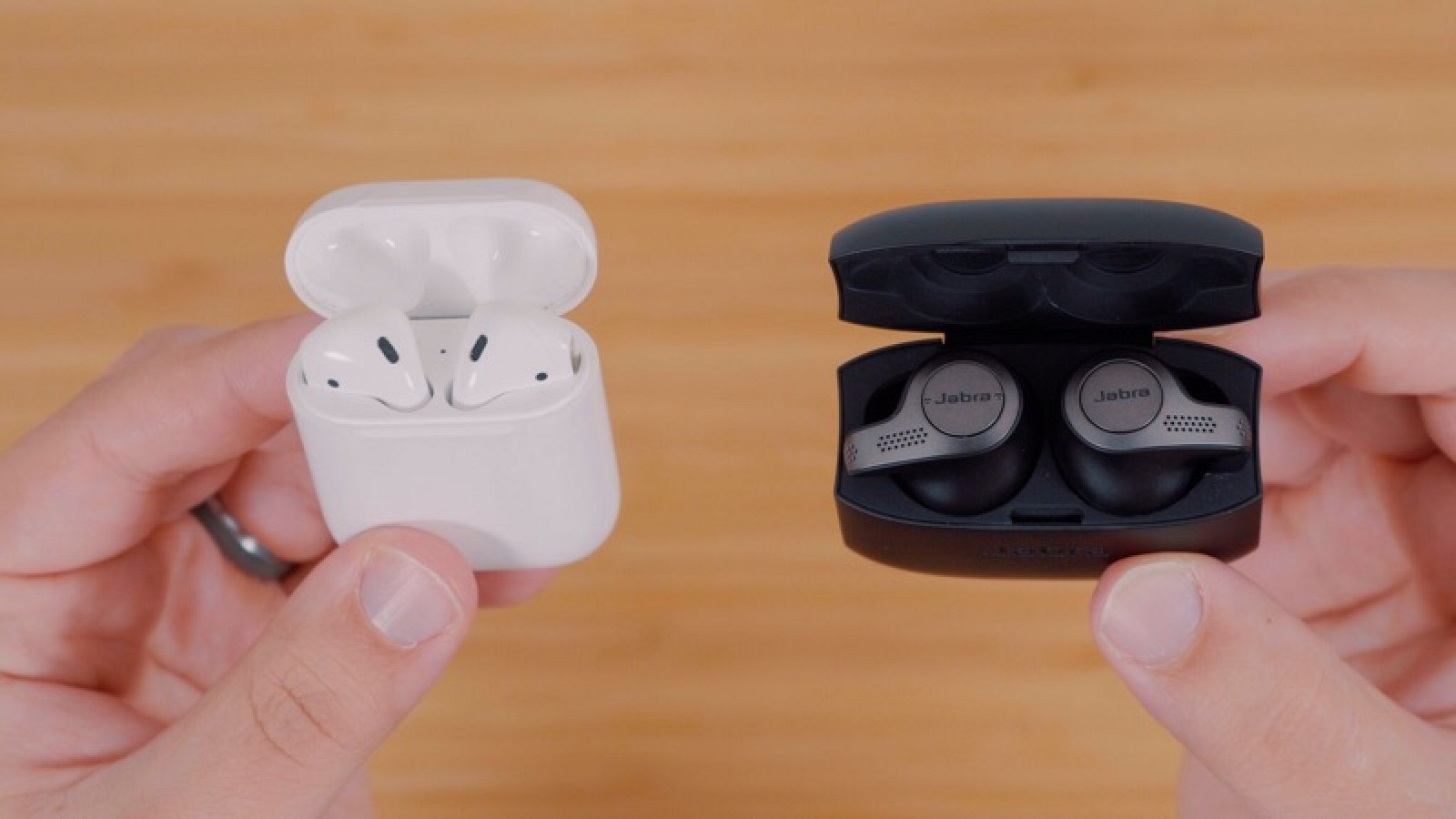 5df38f2d19d Apple's AirPods vs. Jabra's Elite 65t Wire-Free Earbuds - MacRumors