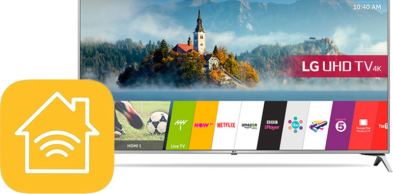 AirPlay 2 and HomeKit Support Coming to New LG Smart TVs