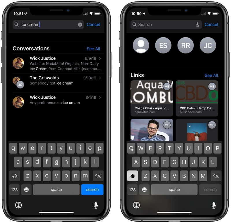 How to Search Your Messages in iOS 13 - MacRumors