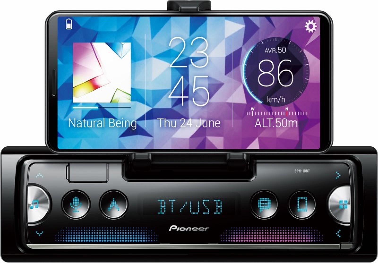 Apple Carplay Download >> CES 2019: Pioneer's Smart Sync In-Dash Smartphone Receiver ...