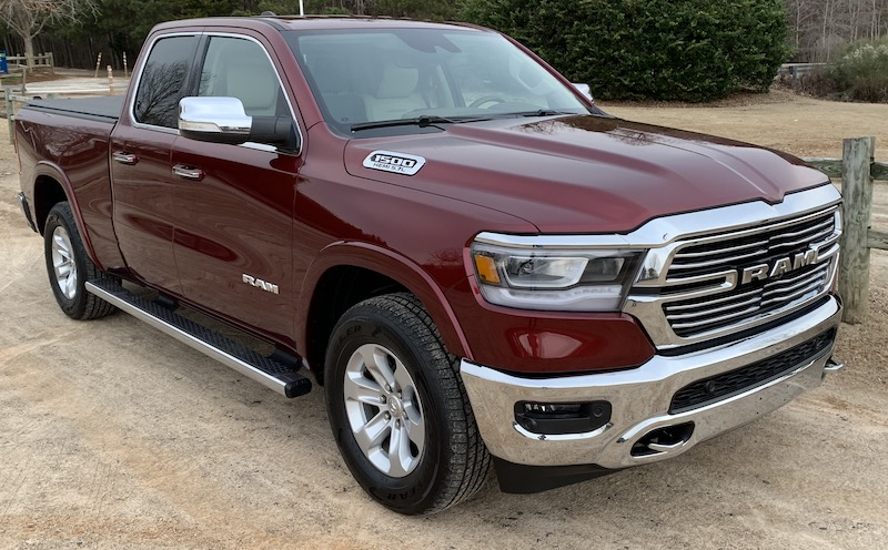 Review: 2019 Ram 1500 Offers a Gorgeous 12 3-Inch Portrait