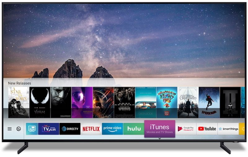 Apple Shares List of AirPlay 2-Enabled Smart TVs From