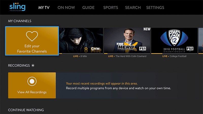 Sling TV Update Brings Interface Improvements for Apple TV