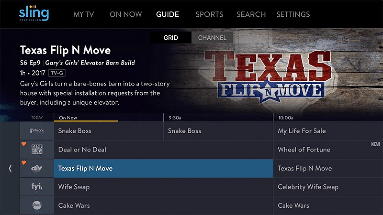 Sling TV Update Brings Interface Improvements for Apple TV Users
