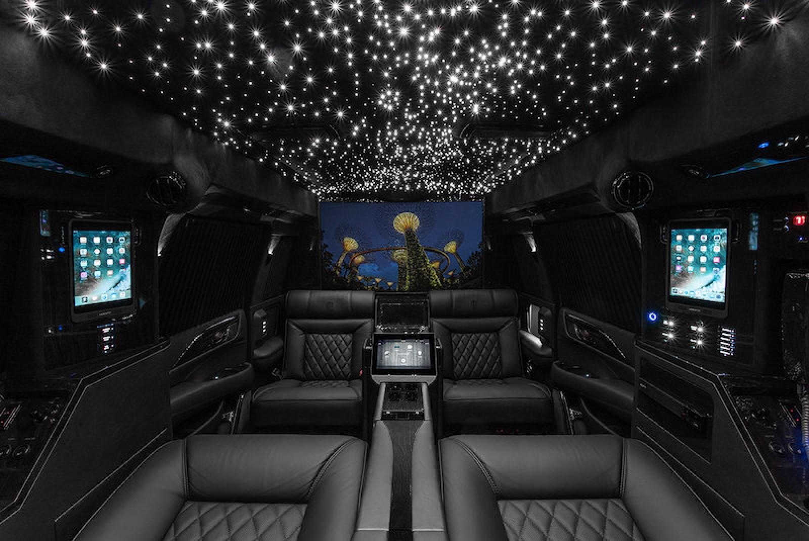 Hyper Luxury 2019 Cadillac Escalade Retrofitted With