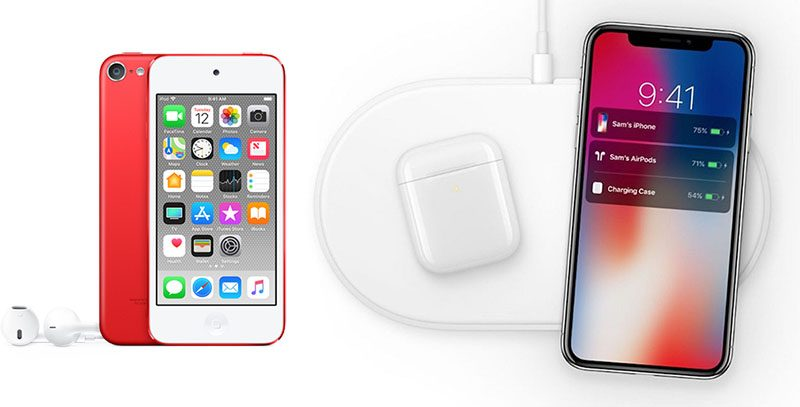 a26496ac855 AirPower and New AirPods Said to Ship in First Half of 2019, New iPod Touch  With Faster Processor Also Expected
