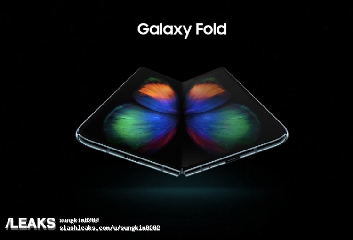 Leaked Renders Allegedly Reveal Samsung's Foldable Phone Hours Ahead of Launch Event