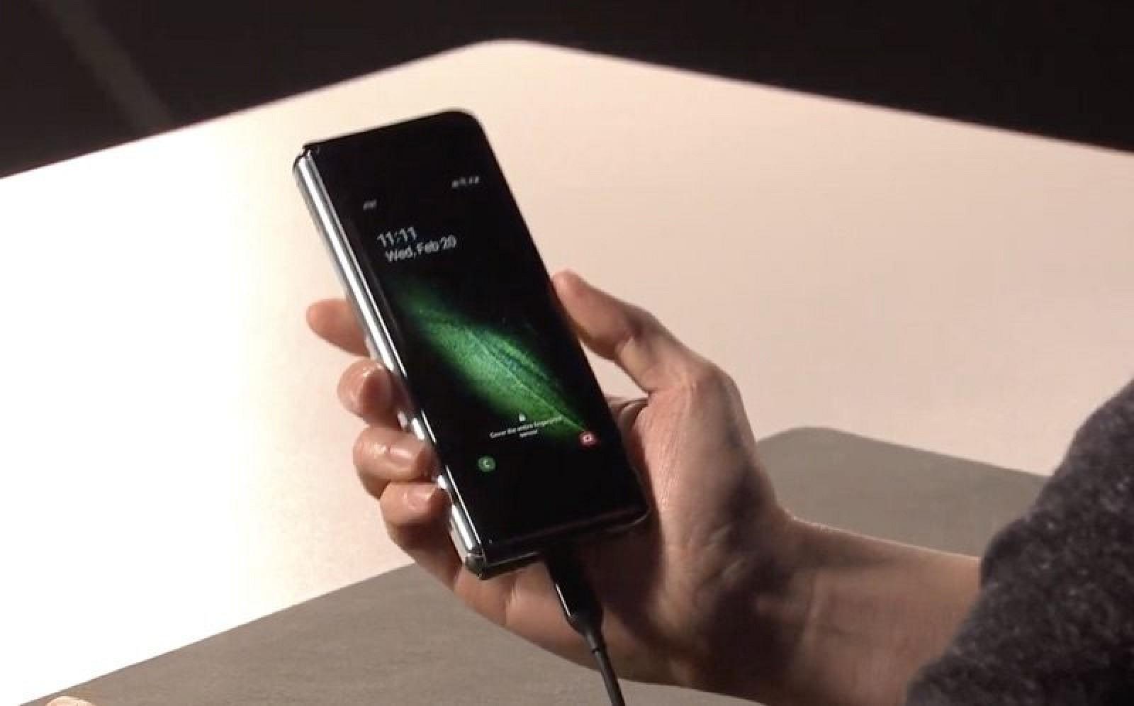 Samsung Unveils New $1,980 Galaxy Fold Smartphone