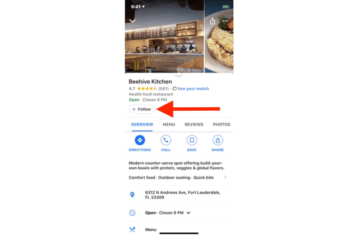 Google Maps on iOS Gains 'Follow' on So You Can Keep Track of ... on