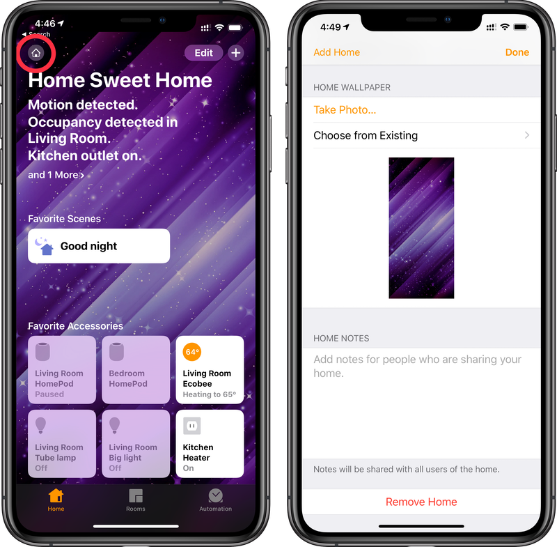 How to Change the Wallpaper in the Home App - MacRumors