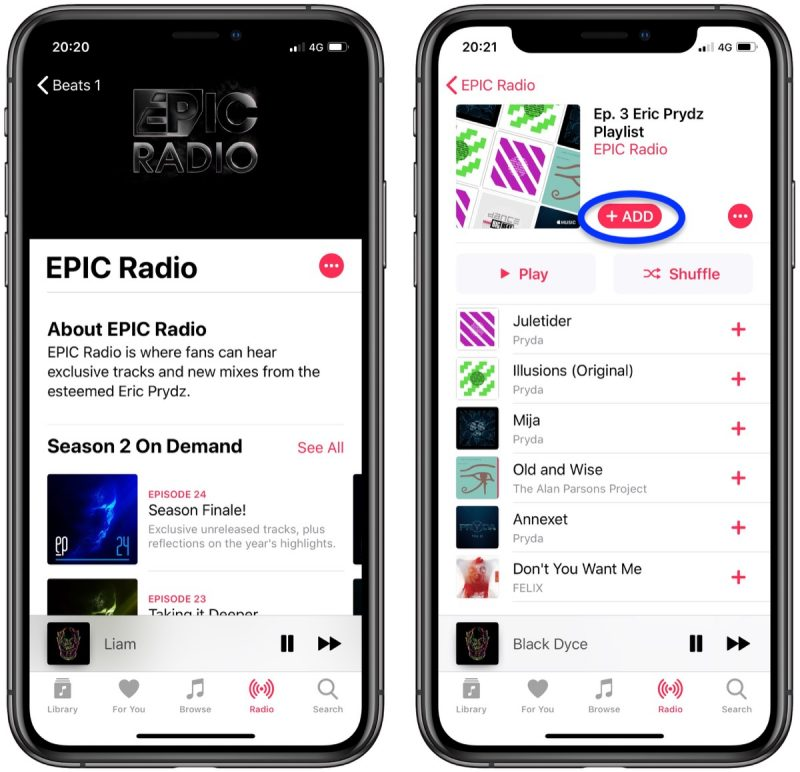 How to Find the Beats 1 Archives in Apple Music - MacRumors