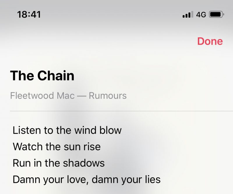 First Youll Need To Start Playing A Song In The Apple Music Catalog Or Your Library Once Is Tap On Songs Banner Just Above