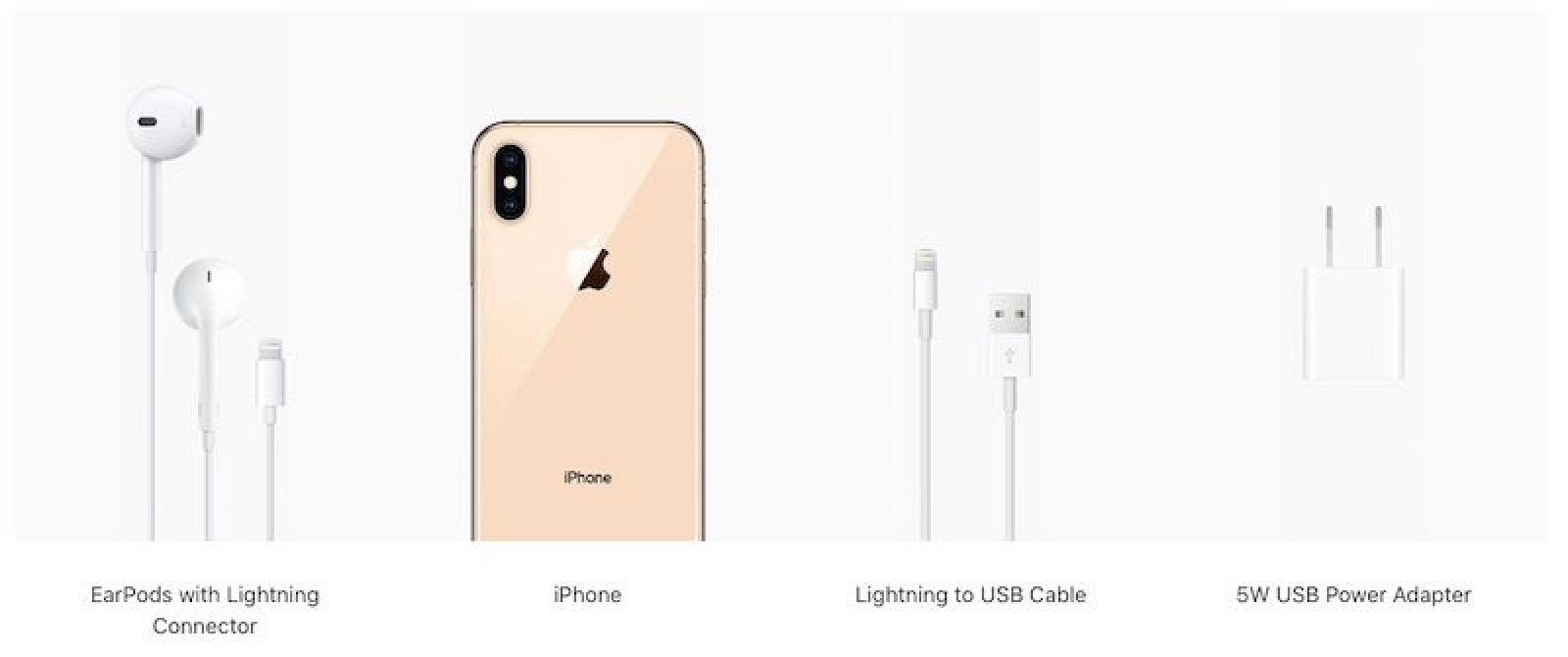 photo image 2019 iPhones Said to Keep Lightning Connector With Same Old 5W Charger and EarPods in Box