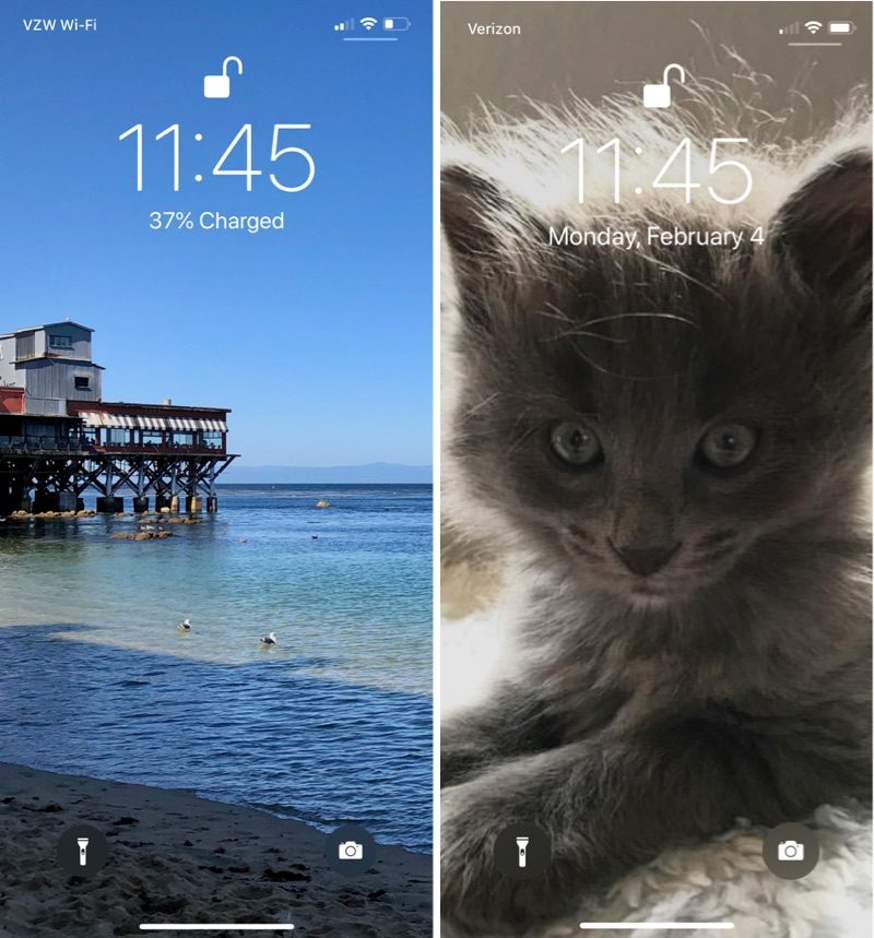Buggy iOS 12 2 Beta 2 Lock Screen Shows Battery Percentage