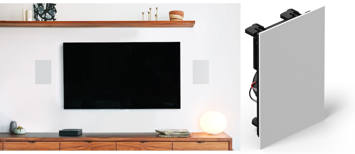 There Are Three New Speakers Total The Sonos In Ceiling Wall And Outdoor Speaker